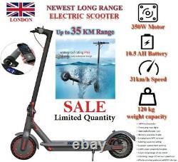 Genuine Long Range AOVO PRO M365 Electric Scooter Waterproof 35KM 350W 10.5AH