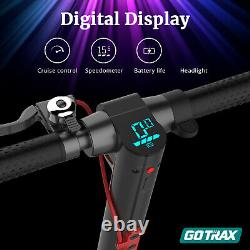 Gotrax GXL V2 Commuting Foldable Electric Scooter Adult 8.5 Tire 15.5MPH Range