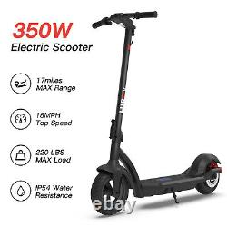 Hiboy MAX3 Electric Scooter 10 Tires 17 Miles 18.6 MPH Commute Adult Scooter