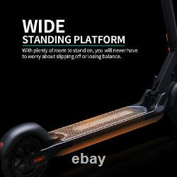 Hiboy MAX Folding Up to 17 Miles 18.6 MPH Electric Scooter 350W Double Brake