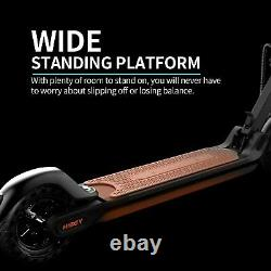 Hiboy MAX V2 Folding 17 Miles 18.6 MPH Electric Scooter Dual shock aborbers APP