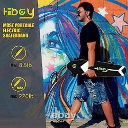 Hiboy S11 Electric Scooter Skateboard 4 Wheels with Wireless Remote Longboard