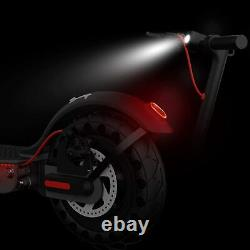 Hiboy S2 Electric Scooter Folding 17 Miles 18.6 MPH Commute 8.5 Solid Tires APP