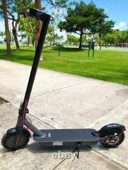 Hiboy S2 Electric Scooter Folding 8.5 Solid Tires Commute Scooter Double Brake