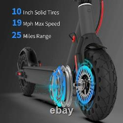Hiboy S2 Pro Electric Scooter 25 Miles 19 MPH 10 Solid Tire Folding Scooter APP