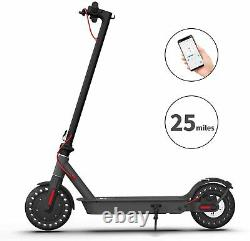 Hiboy S2 Pro Folding Electric Scooter Up to 25 Miles 19 mph with 10 Solid Tires