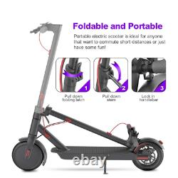 High Speed Electric Scooter Adult Men and Women 350W Motor 8.5 Solid Tires