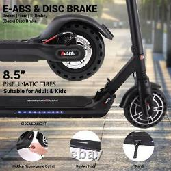Hurtle HURES18-M5 Upgraded 8.5 Inch Foldable Electric Scooter Vacuum Tire