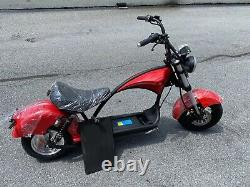 JARWLEE CHOPPER E- SCOOTER 60V/20AH 1500W, WithFRONT BAG, AUTO-SYSTEM, PEAK-3000