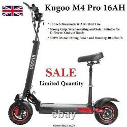 Kugoo Kirin M4 PRO Electric Scooter 16AH 10 45km/h Off-Road tires 65km Range