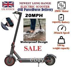 Long Range 20MPH PRO M365 Electric Scooter Waterproof 35KM 350W 8.5inch UK STOCK