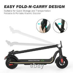 MegaWheels Scooter Electric Portable Rechargeable Folding Scooter Black