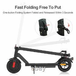Megawheels Folding 16 Miles Long-Range Electric Scooter Double Braking