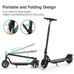 Megawheels S10, Folding Adult Electric Scooter, Up To 16mph, 8.0 Honeycomb Tire
