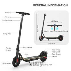 Megawheels S10 Portable Electric Scooter 250W Motor 16MPH Adult E-Scooter Pro