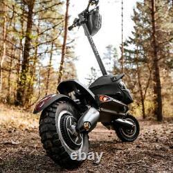 NANROBOT Electric Scooter 2000W Adult Fold 52V 40MPH D6+ Disk Brake Off-road