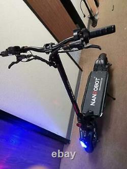 NANROBOT Electric Scooter D6+ 2000W 52V 26Ah Oil Brake 99% New