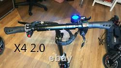 NANROBOT Electric Scooter X4 2.0 500W 48V Max 23MPH 23Mlies 80% New Local Pickup