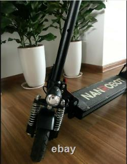 NANROBOT X4 2.0 Adult Electric Scooter 500W 20MPH 20Miles 80%New Local Pickup
