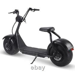 NEW 2000W 60V 20Ah Electric Kick Moped CityCoco Offroad Wide Fat Tire Free Bag