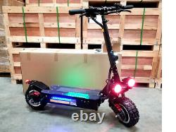 NEW 5000W Off Road Electric Kick Scooter Ultra High Speed 25AH LITHIUM Battery