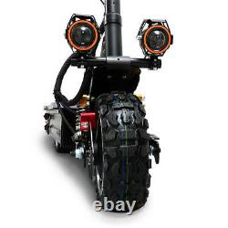 NEW 5600W Dual Off Road Electric Scooter Ultra High Speed 30AH LITHIUM Battery
