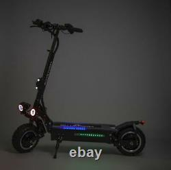 OUTSTORM 56MPH OffRoad Electric Scooter 3200with60v Two Wheel 11in 25Ah Battery