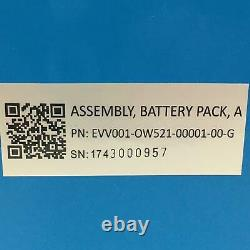OneWheel New Replacement Battery Pack. EVV001-OW521-00001-00-G 52.8V 2500mAh