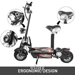 Pick up Electric Scooter for Adults with 1000W Motor, Folding Portable Off-Road