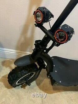 Premium Electric Scooter Dual Motor (2,800 Watt per motor) up to 50 MPH