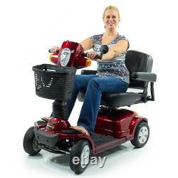 Pride Mobility MAXIMA Bariatric 500 lbs Heavy Duty Electric Scooter SC940 RED