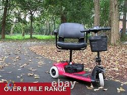 Pride Mobility Scooter Folding Travel Electric Adult With Seat Adjustable New