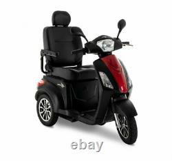 Pride RAPTOR Recreational Power Mobility Scooter with Electric Safety Brakes