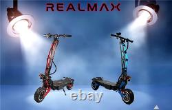 REALMAX SK-11 Most Powerful AWD Electric Scooter 8000W 45AH 100 km/h