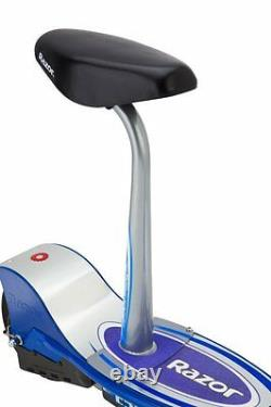 Razor E300S Adult 24V High-Torque Motor, Electric Powered Scooter with Seat, Blue