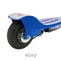 Razor E300 Adult 24V High-Torque Motorized Electric Scooter, Blue (Open Box)