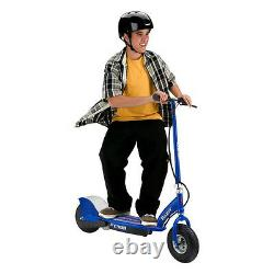 Razor E300 Adult RideOn 24V High-Torque Motorized Electric Powered Scooter, Blue