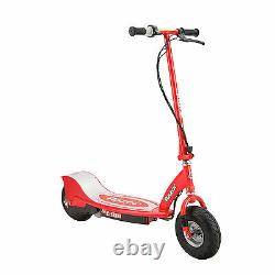 Razor E300 Adult Ride-On 24V High-Torque Motorized Electric Powered Scooter, Red