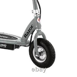 Razor E325 Adult Ride-On 24V High-Torque Motor Electric Powered Scooter, Silver