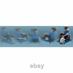 Razor High Torque Motorized Drifting Crazy Cart with Drift Bar for Adults, Blue