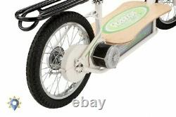 Razor Scooter Adult Electric Folding 500W With Seat Adjustable Luggage Rack New
