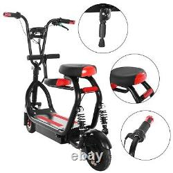 Rechargeable Folding Electric Scooter Adult Kick E-scooter Safe Urban Commuter A