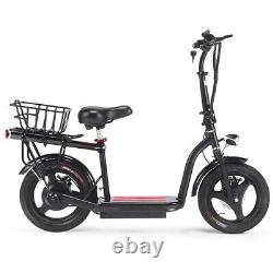 SAY YEAH Cruiser 36v 350w Lithium Electric Scooter MotoTec Adult E-bike Black