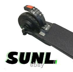 SUNL Kids Foldable Electric K1 Scooter 6 Tire Adjust Height 10mph