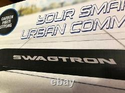 SWAGTRON Swagger High Speed Adult Electric Scooter Ultra-Lightweight Carbon Fib