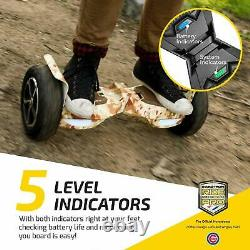 SWAGTRON T6 UL2272 Rugged Off-Road Motorized Self Balancing Electric Hoverboard