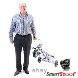 SmartScoot Travel Scooter Folding Portable Lithium Powered (Weight Only 40 lbs)