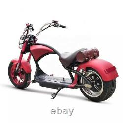 SoverSky E-Scooter Motorcycle 2000W 20Ah Lithium Battery Fat Tire Citycoco M1
