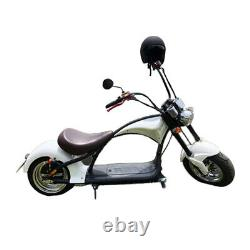 SoverSky Electric Chopper Motorcycle 2000W 20Ah Lithium Fat Tire Scooter M1