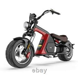 SoverSky Electric Motor Scooter 3000w 30Ah Lithium Fat Tire Chopper Scooter M8